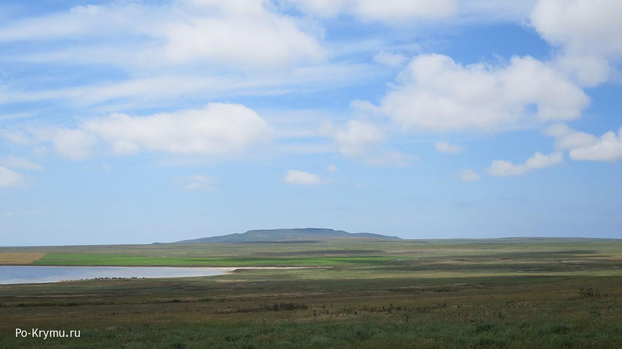 Степи керченского полуострова.