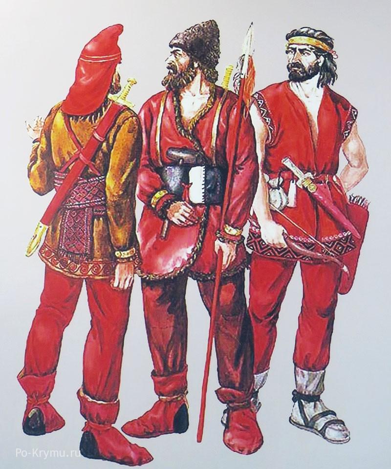Как одевались киммерийцы.