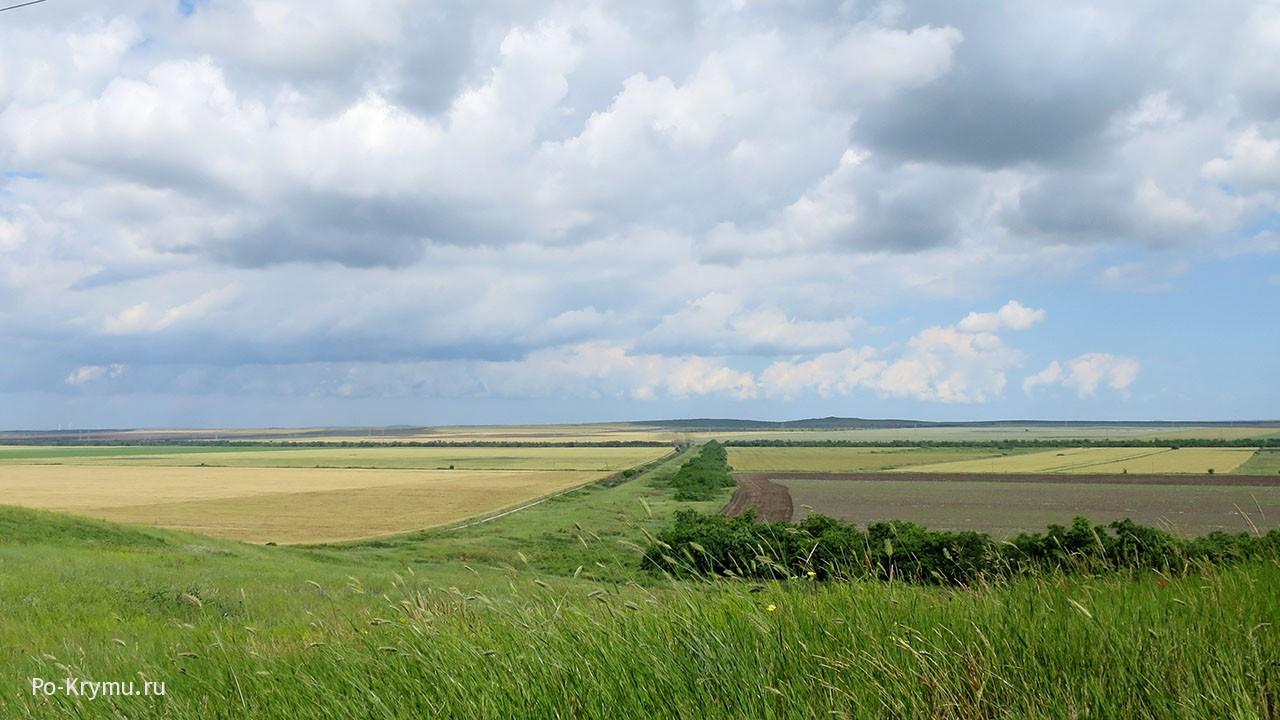 Киммерийский вал, Керченский полуостров.