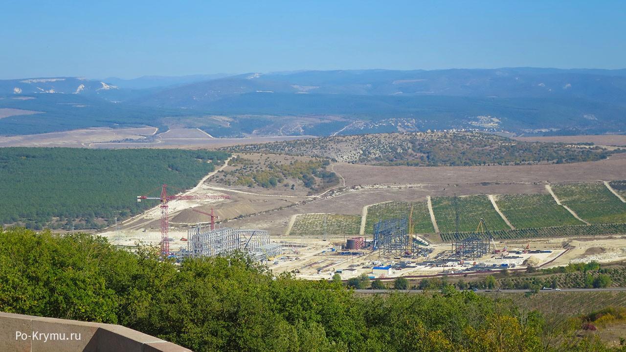 Какие изменения произошли в Севастополе при России - Балаклавская ТЭС.