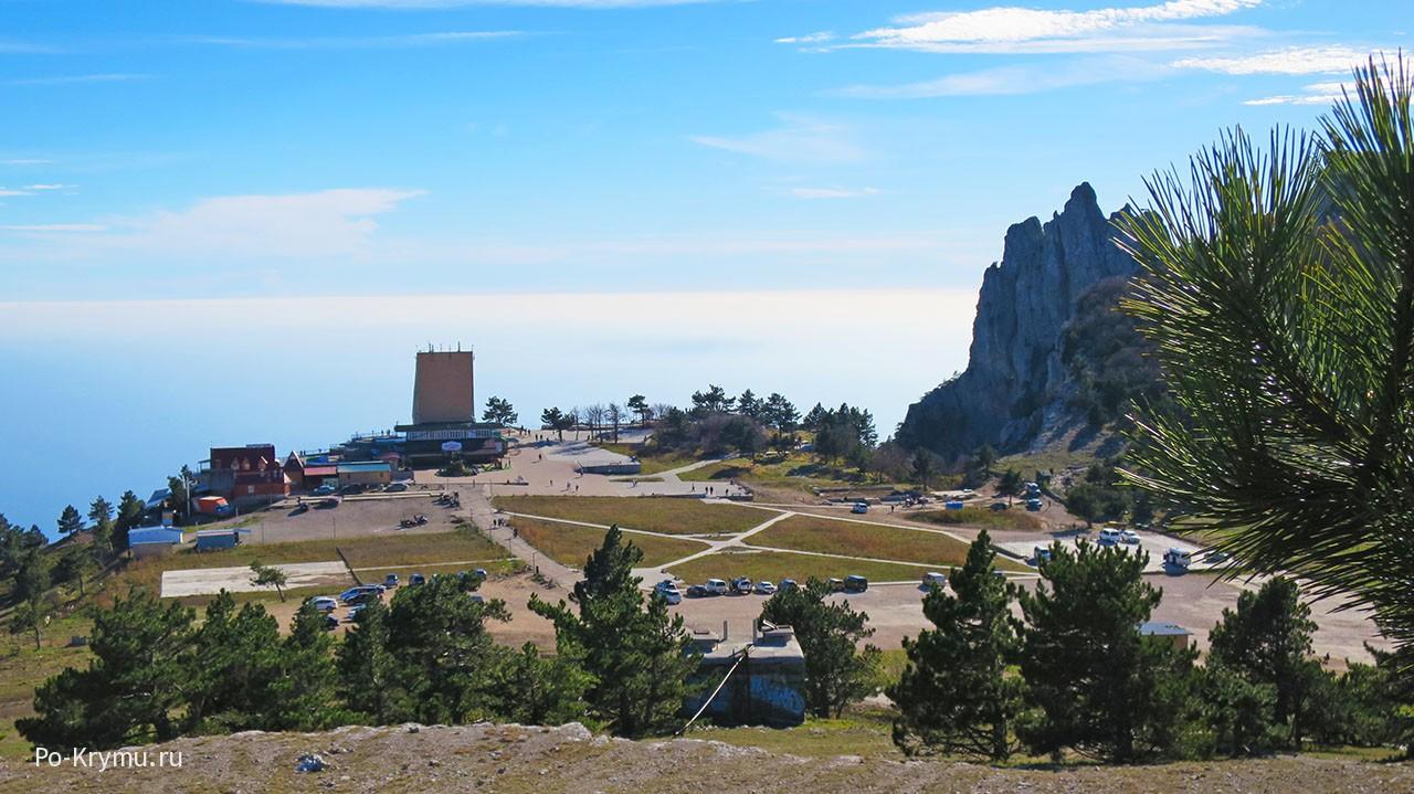 Что изменилось на горе Ай-Петри после реконструкции.