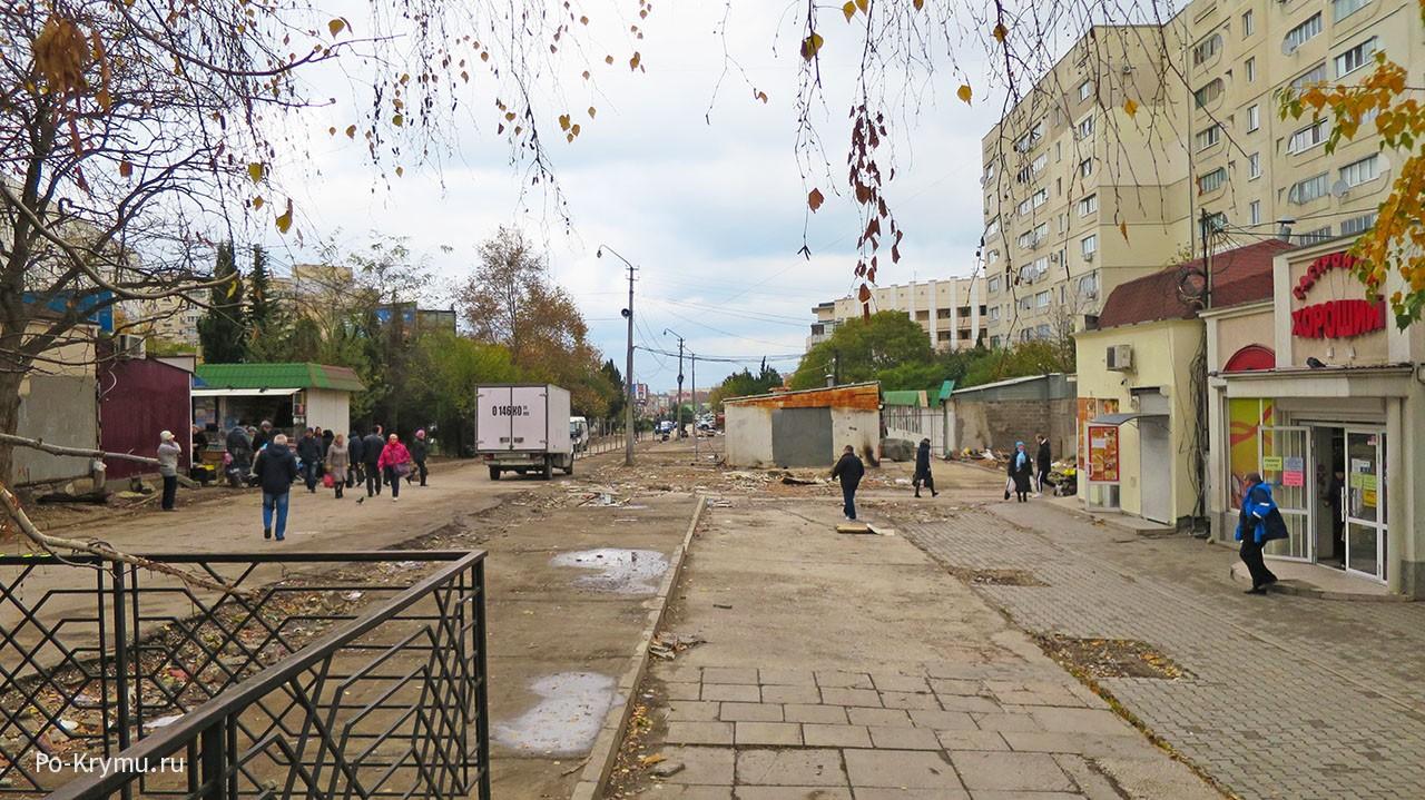 Снос Сталинградского рынка в севастополе.