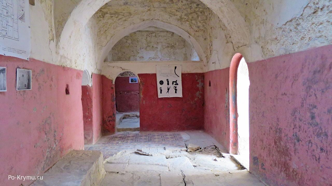 Турецкая баня старого Гезлёва.