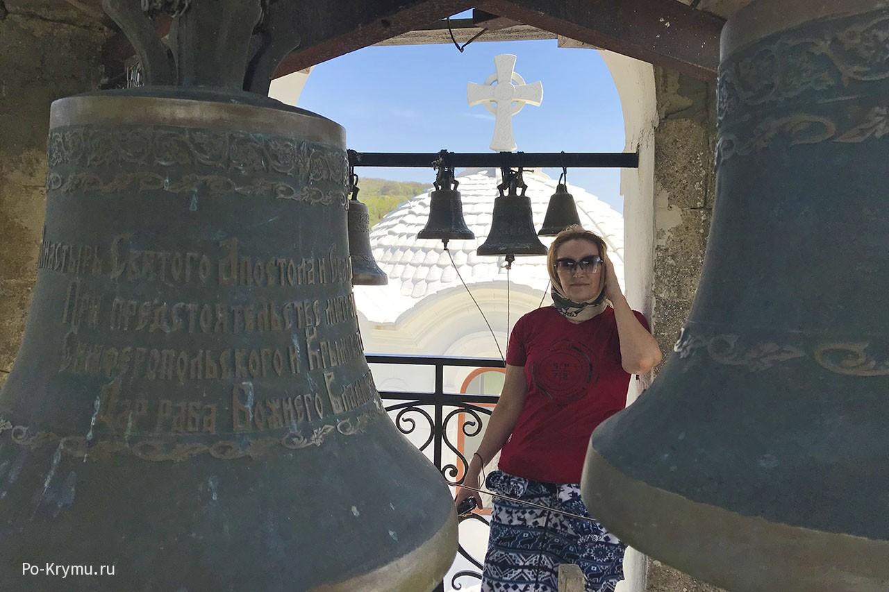 Мужской монастырь Святого апостола и евангелиста Луки, колокольня.