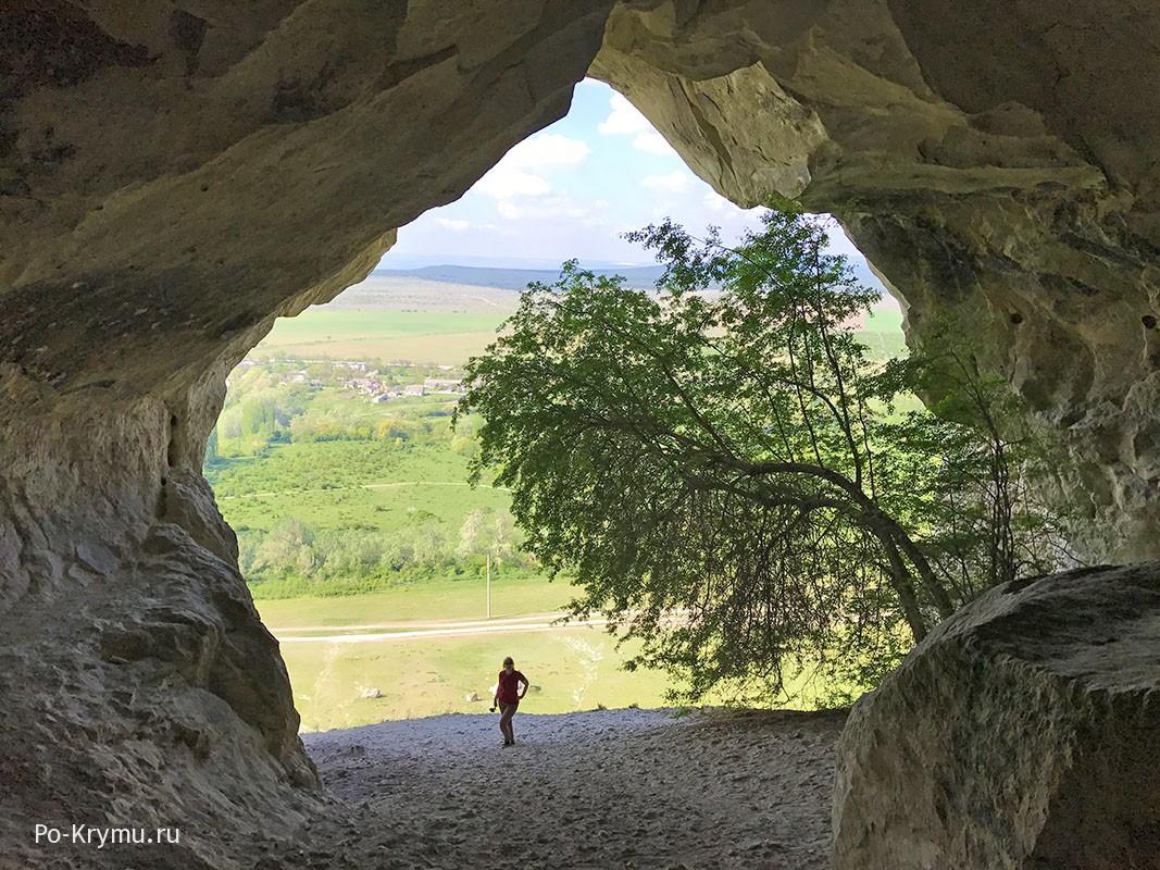 Сарматское святилище в Большом гроте, Белогорский район.