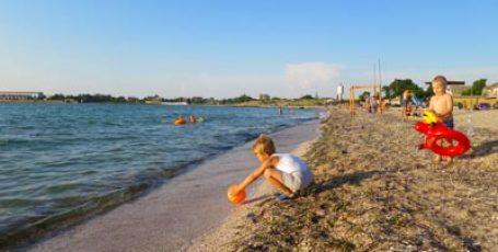 Пляж в Черноморском