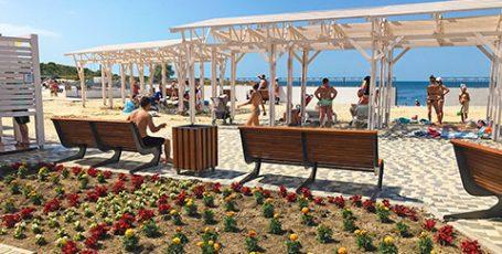 Как изменился Солдатский пляж Севастополя – новая Адмиральская лагуна