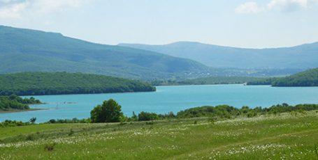 Все озера Байдарской долины