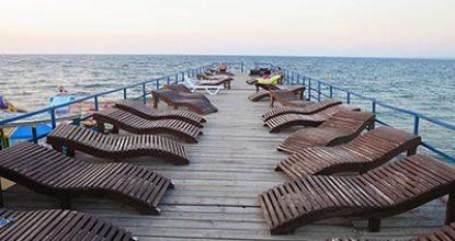 Пляж парка Победы в Севастополе