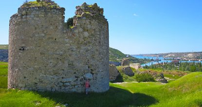 Средневековая крепость Каламита в Инкермане