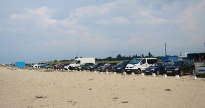 Пляж в Портовом