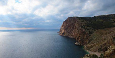 Пляж Васили на краю земли