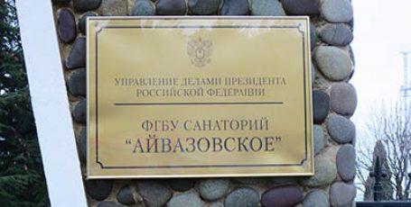 Парк Айвазовское в Партените