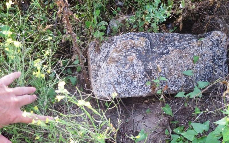 Остатки каменной кладки