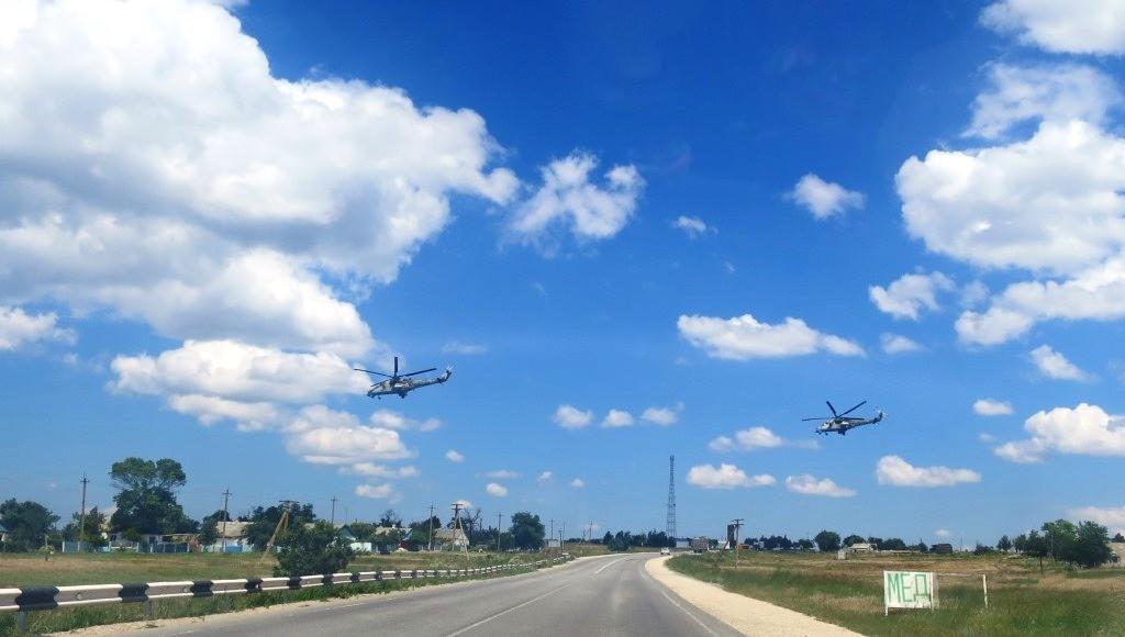 Фото крымского неба в белых облаках