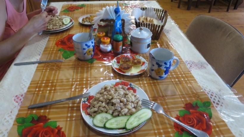 Жилье с питанием на поселке Новоотрадное