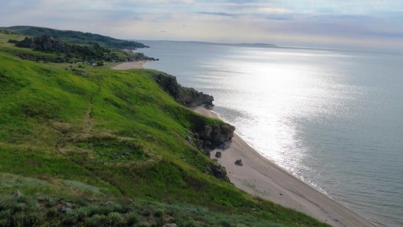 Керченский полуостров - путешествие летом на авто к Генеральским пляжам