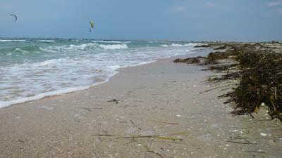 Пляжи Ярылгачской бухты