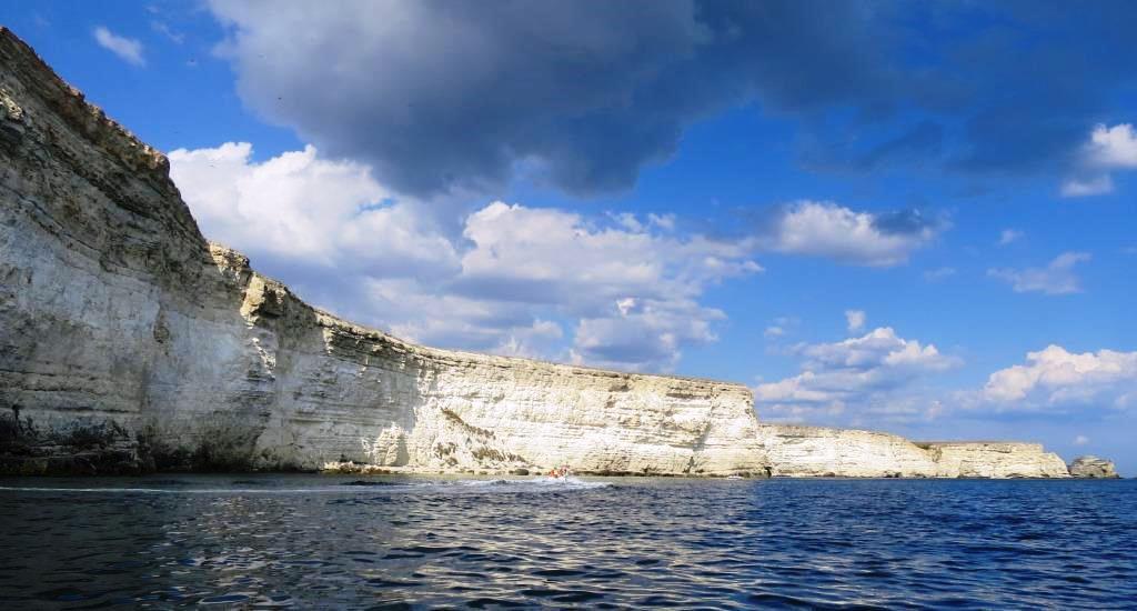 Тарханкут, скалы