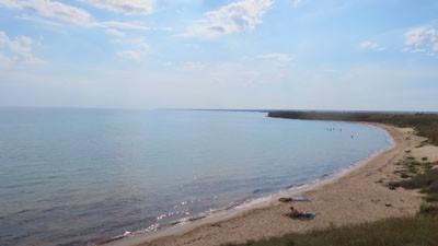 Пляж у Громово
