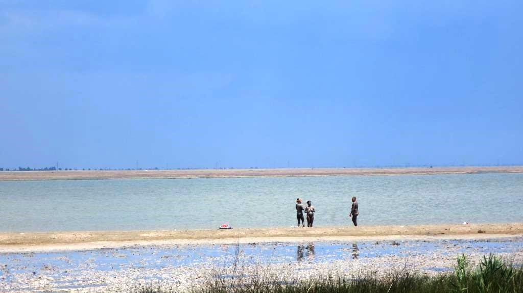 Ойбурское озеро, лечебные грязи.