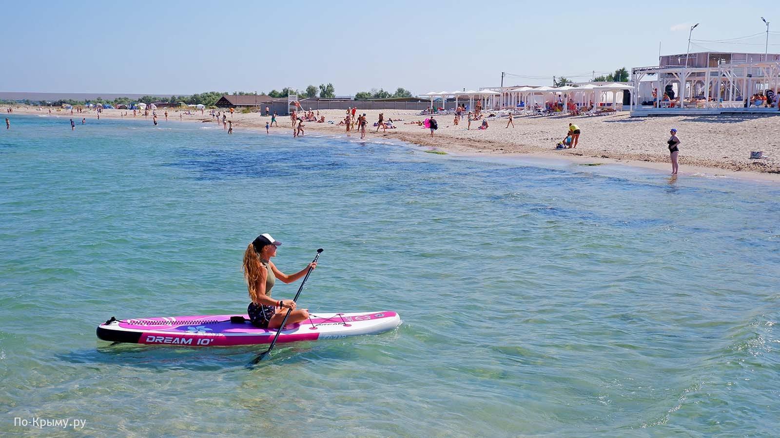 Пляж Экстрим-Крым №ЧЕ-10, Караджинская бухта