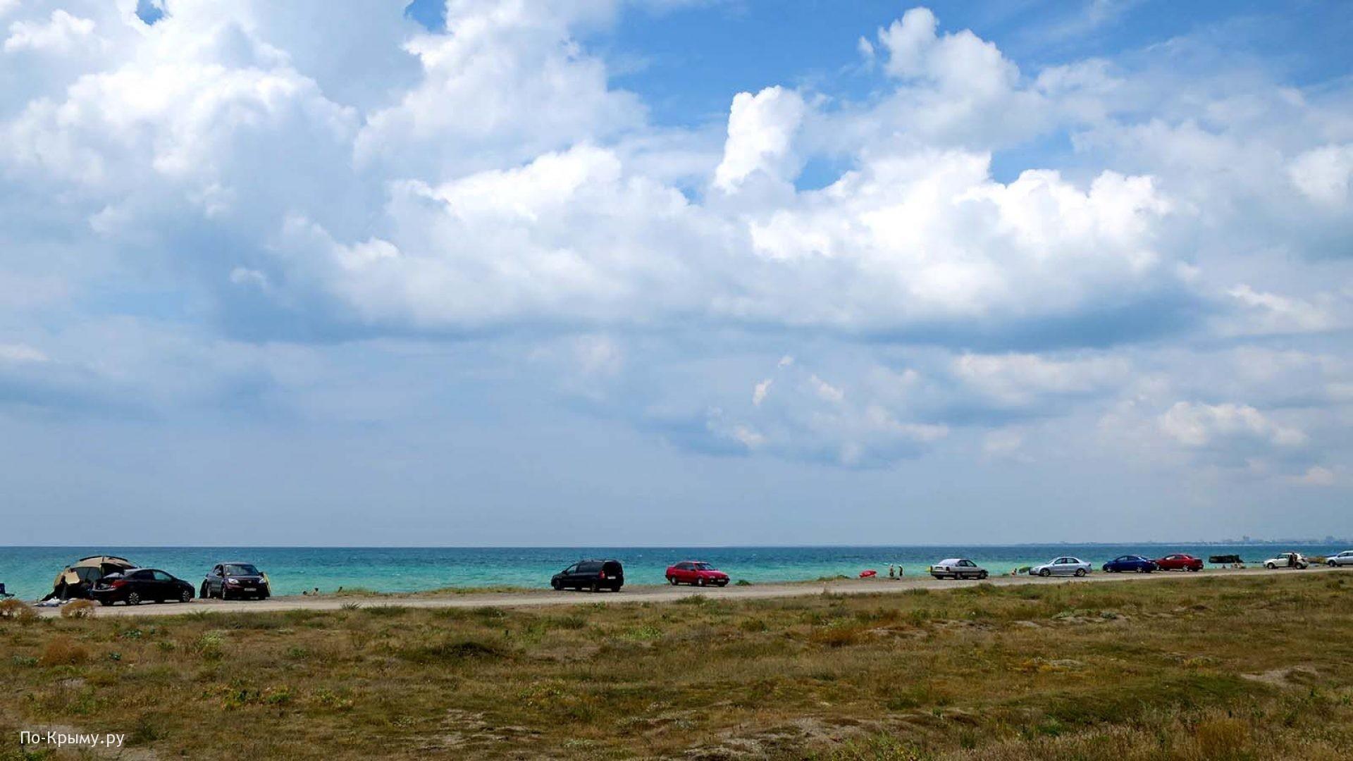 Мелкогалечные пляжи Западного Крыма