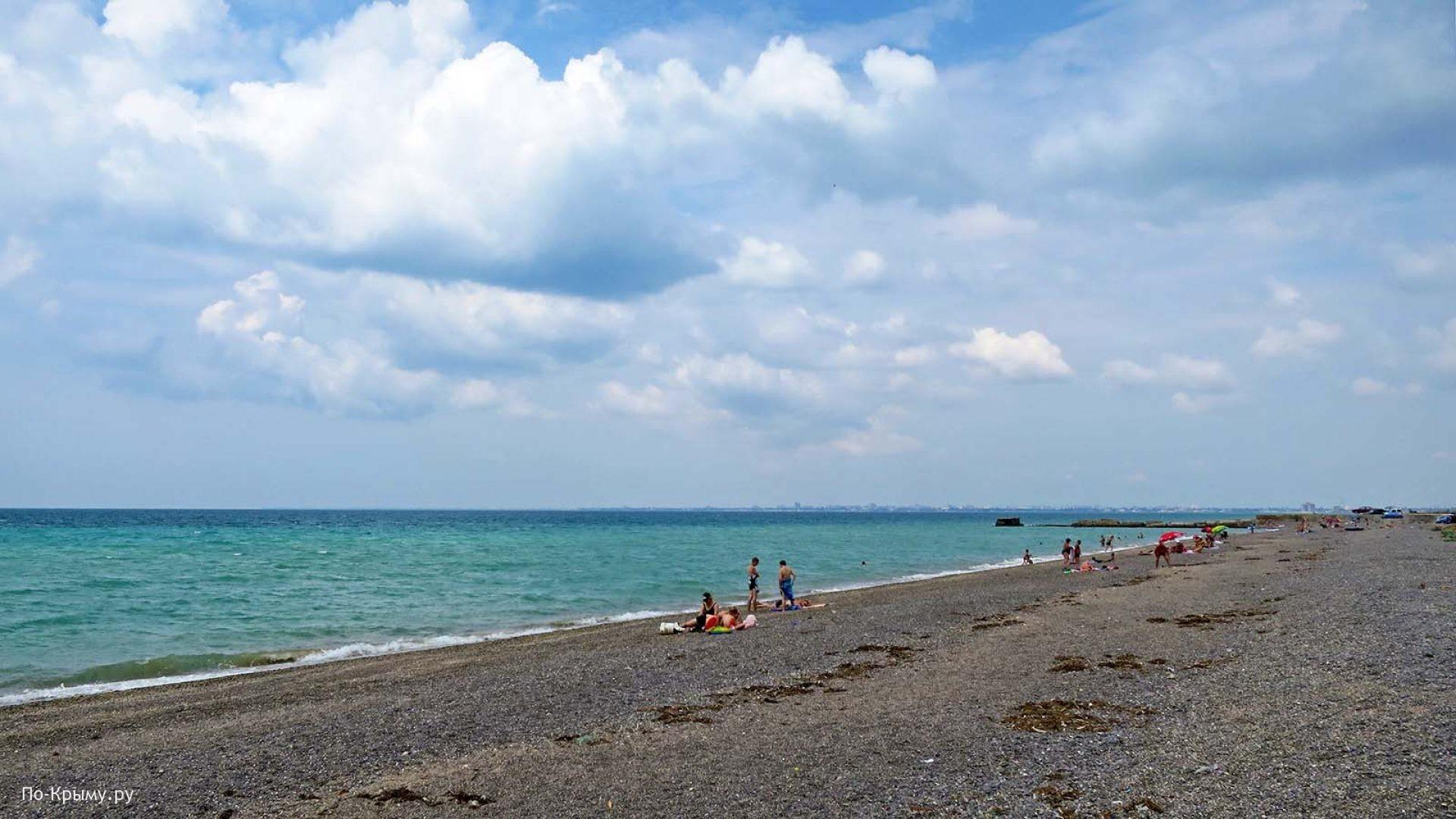 Дикие пляжи Евпатории