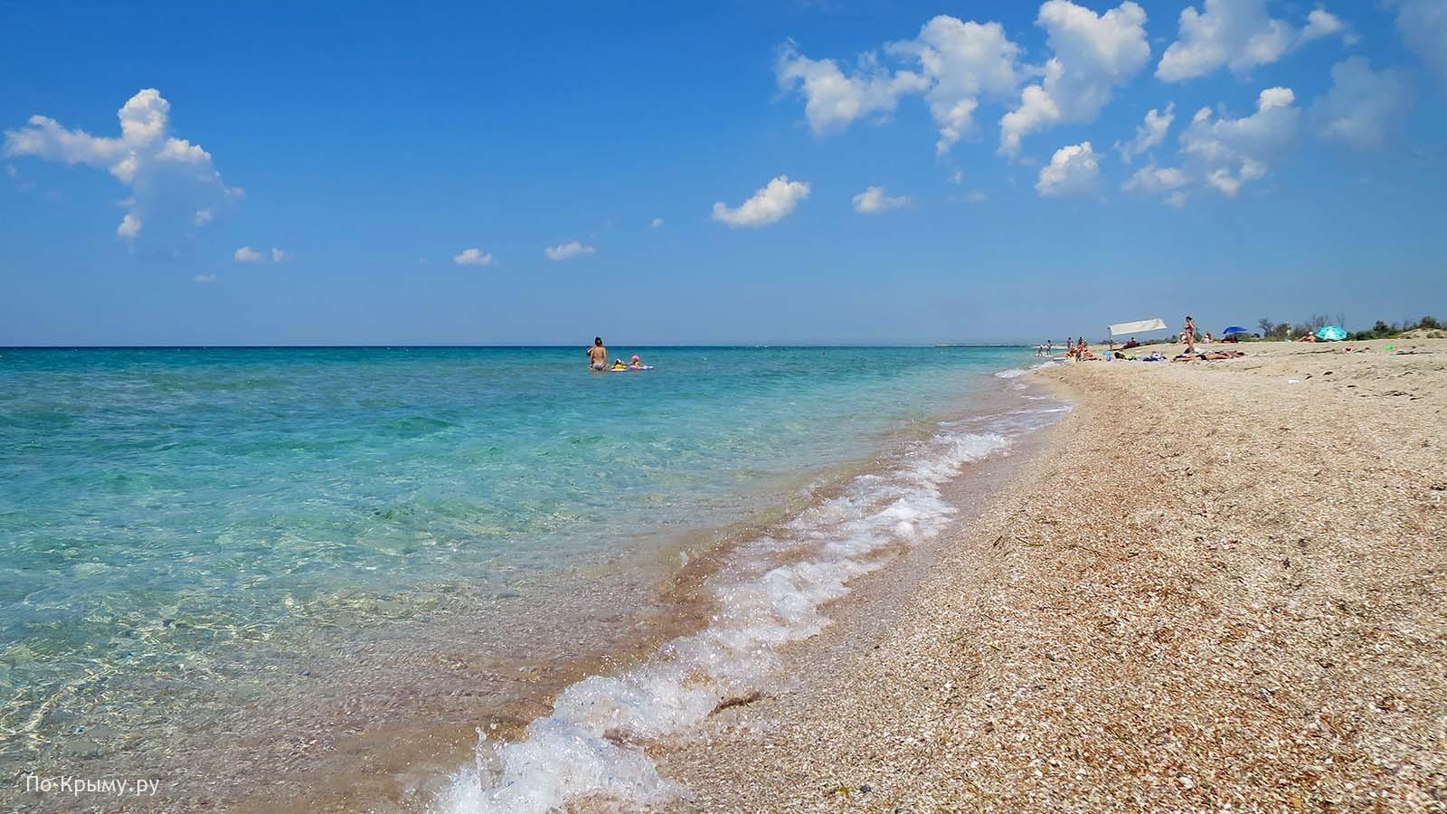 Западный Крым. Пляж у Мирного