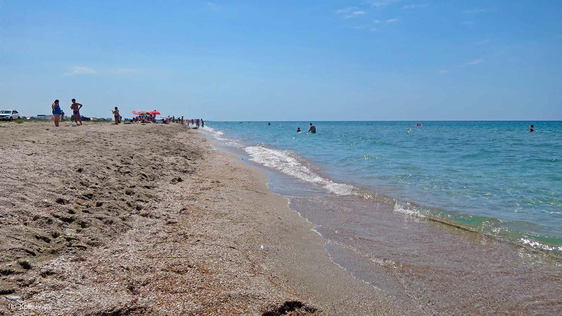 Песчаные пляжи Донузлава