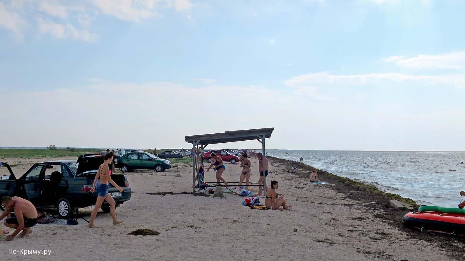 Дикие пляжи Крыма на машине