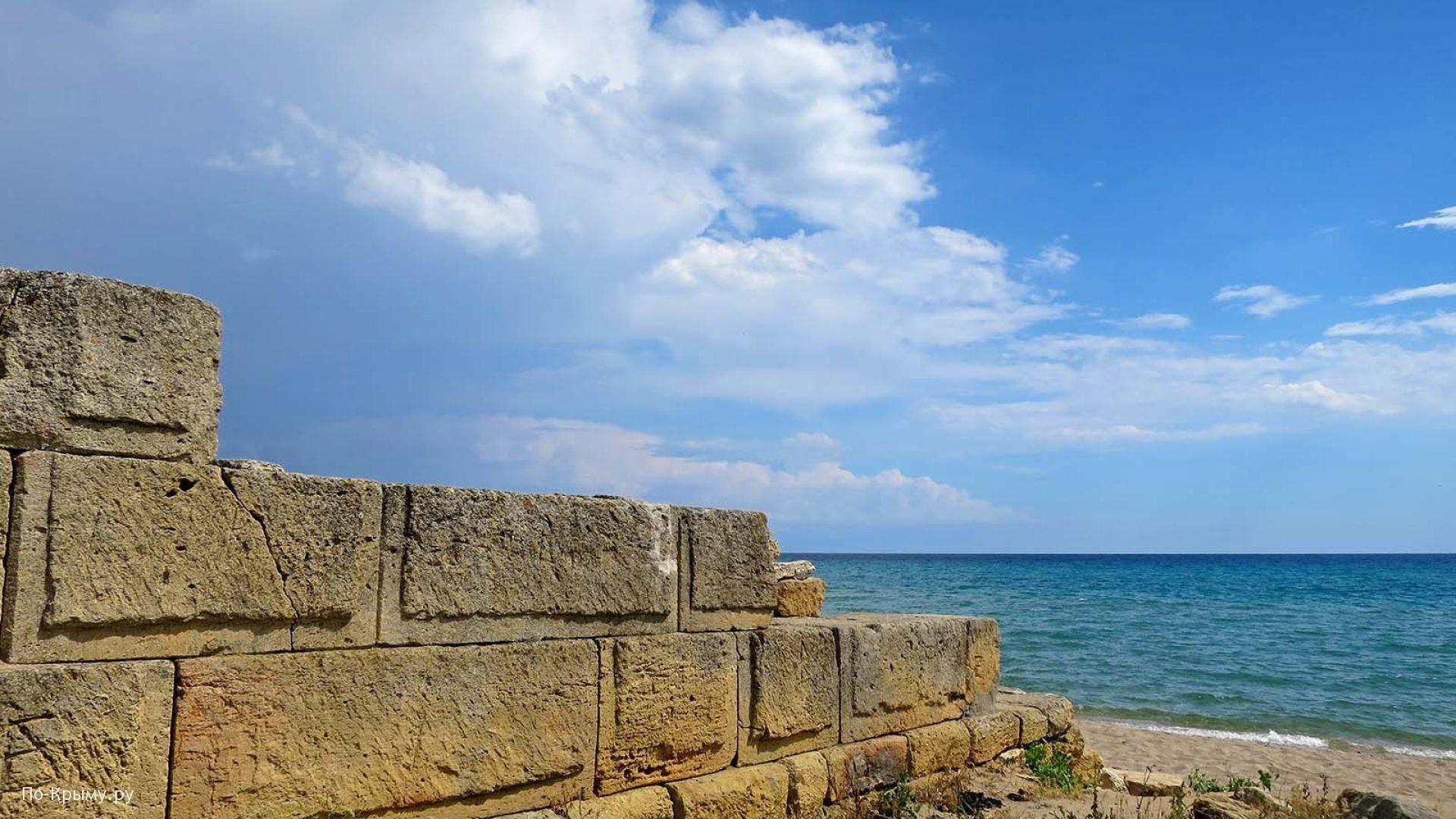 Западный Крым, городище Беляус