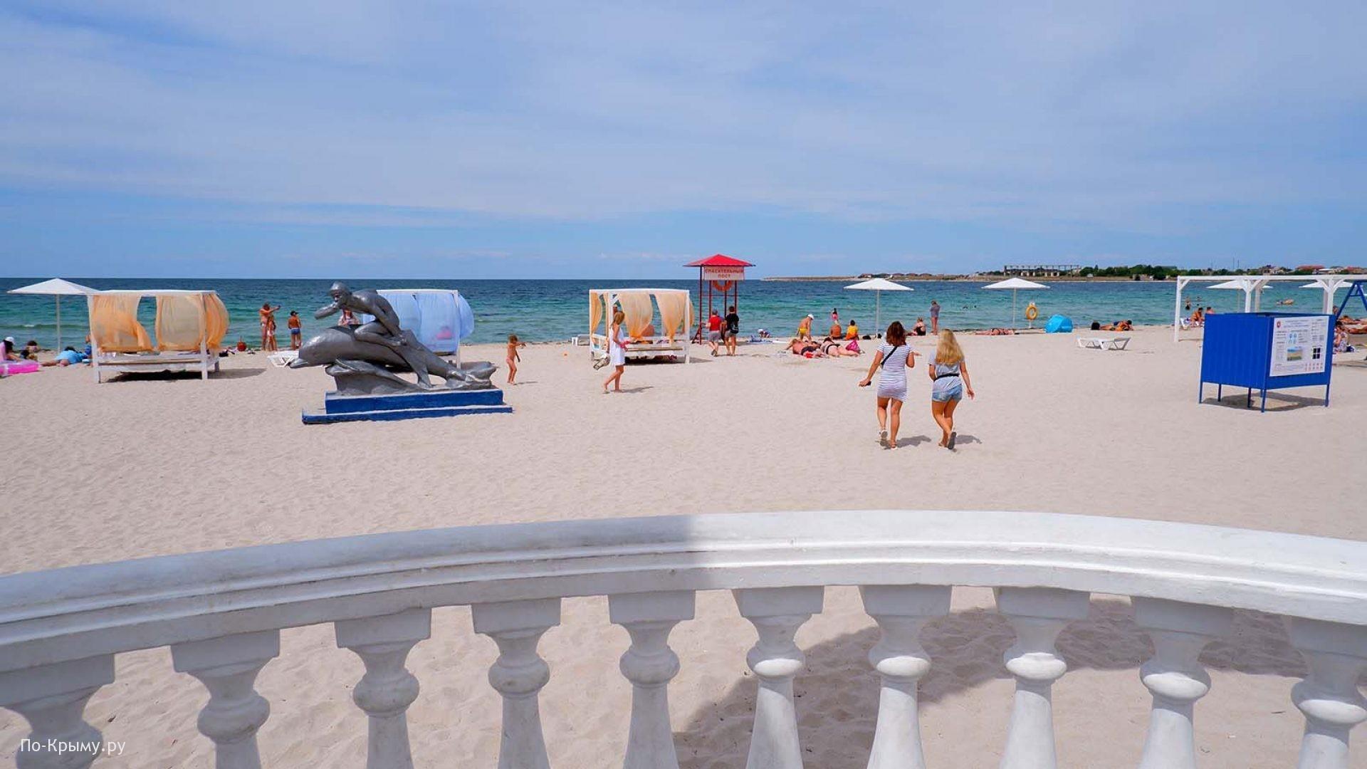 Лучшие пляжи Черноморского побережья Крыма