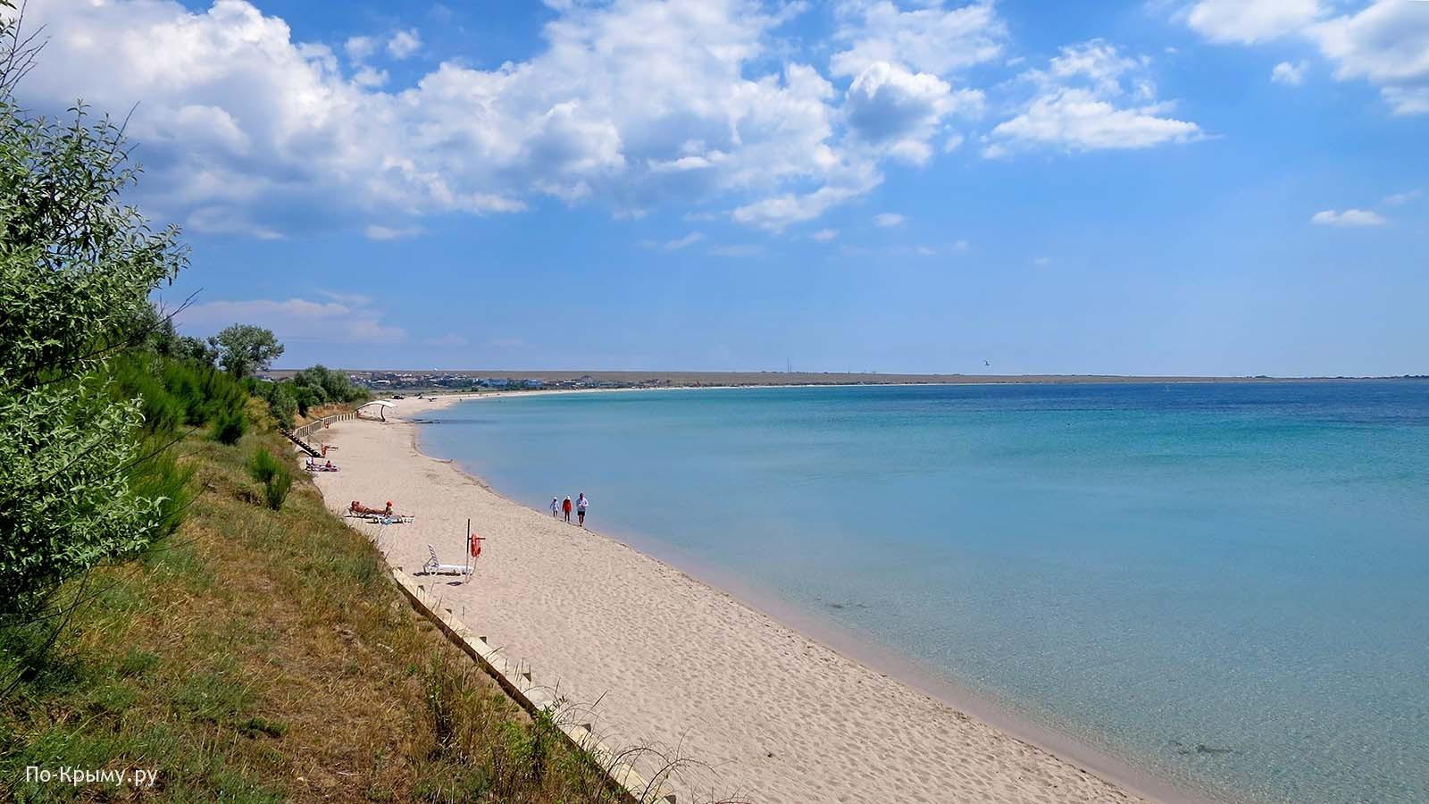 Пляж «Солнечной долины» - усадьбы Попова №ЧЕ-5
