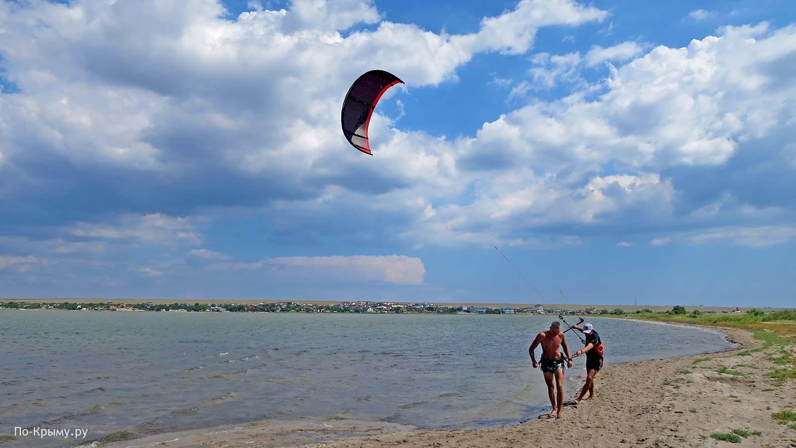 Оленевка, озеро Лиман (Караджа), Крым