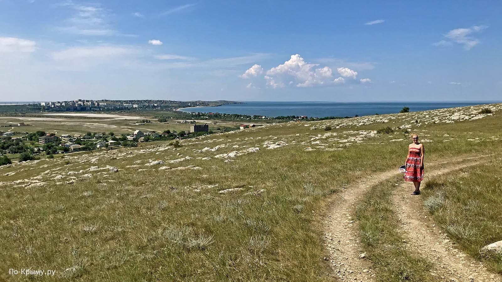 Казантипский природный заповедник у Щелкино