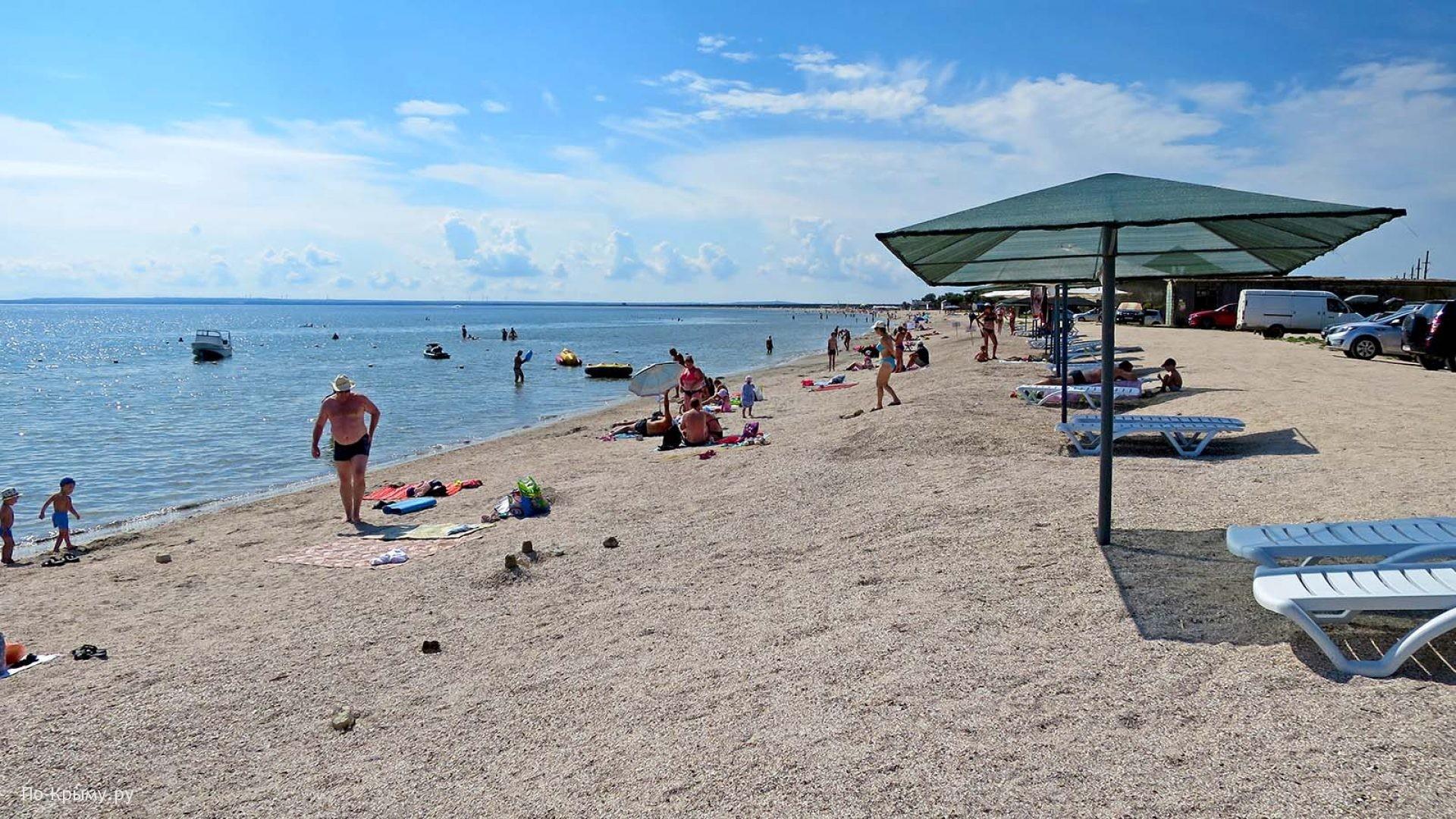 Песчаные пляжи Крыма - топ 10