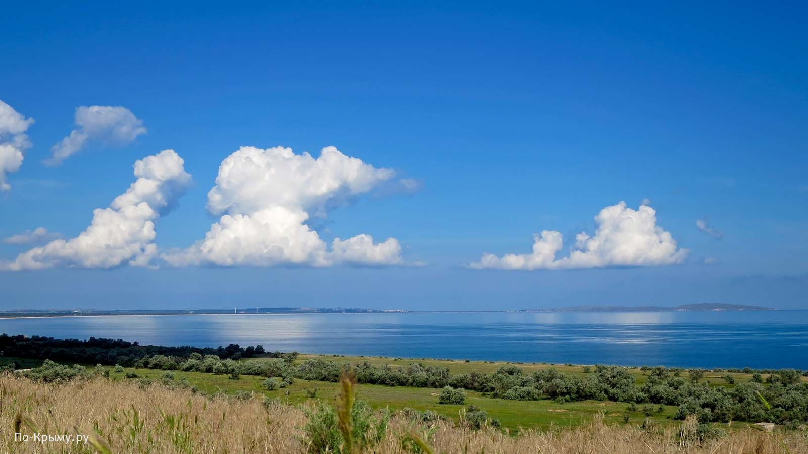 Казантипский залив Азовского моря