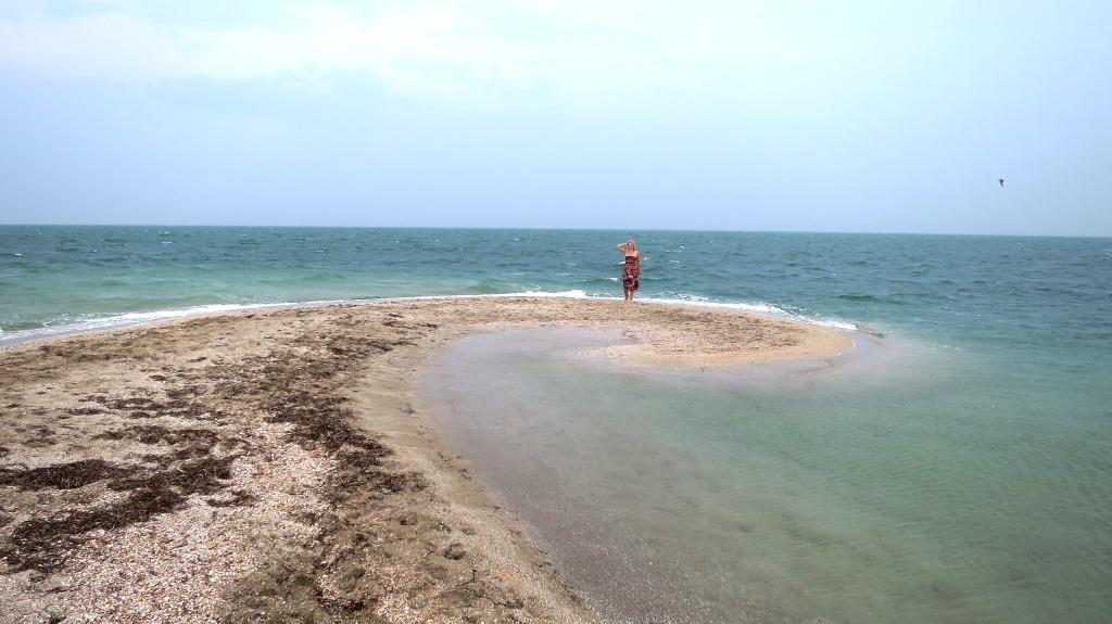 Самый большой пляж Крыма