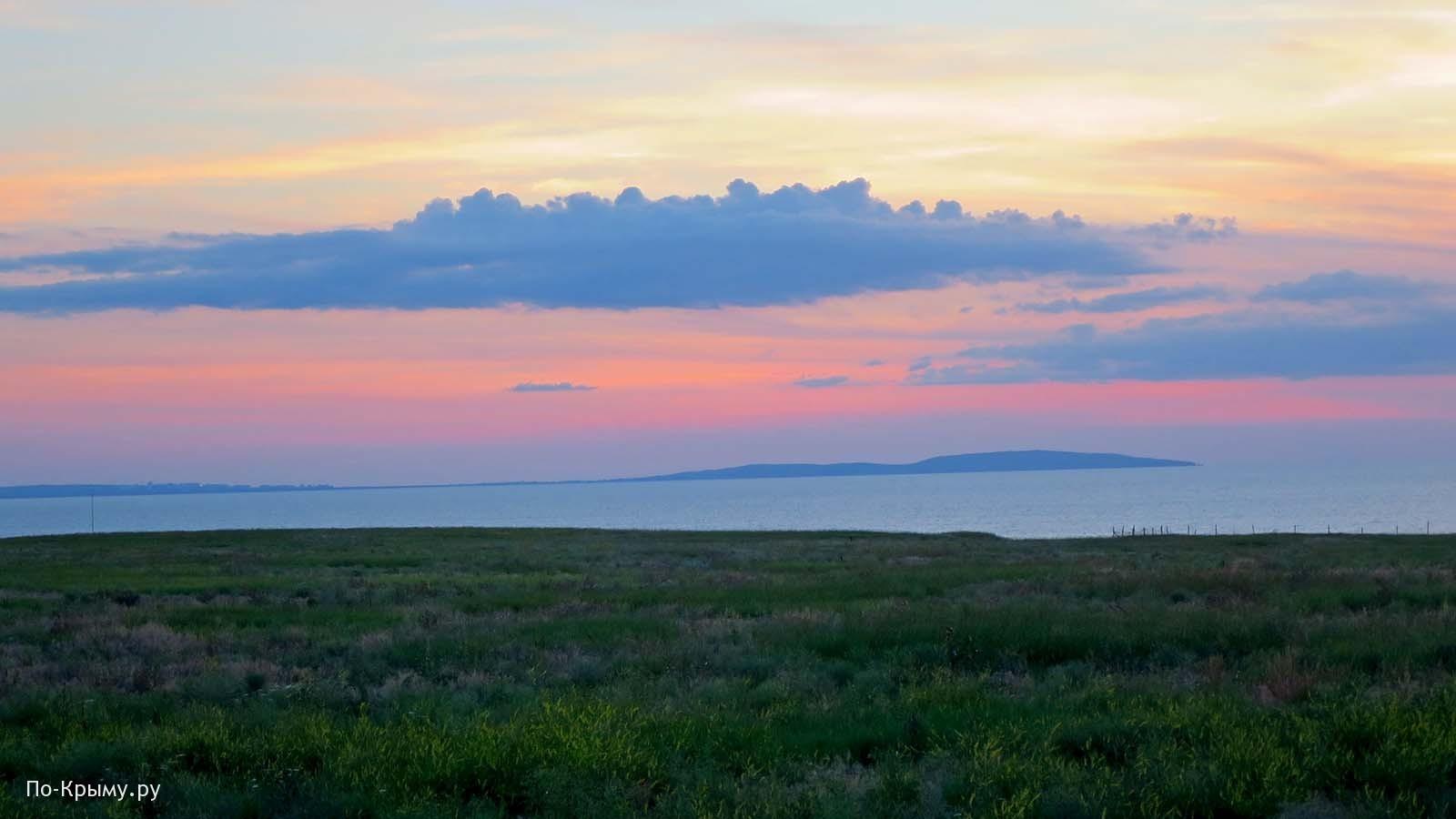 Азовское море. Казантипский заповедник