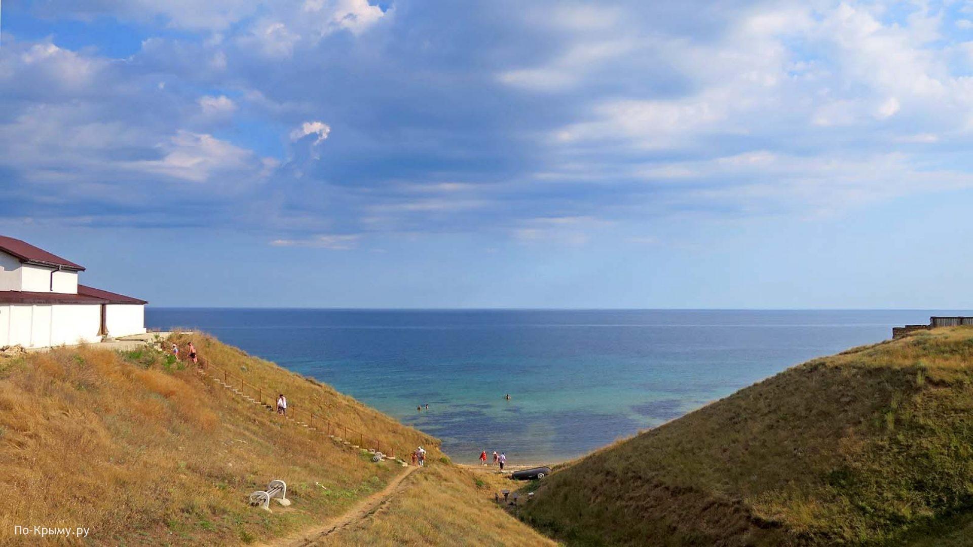 Западный Крым, поселок Окуневка