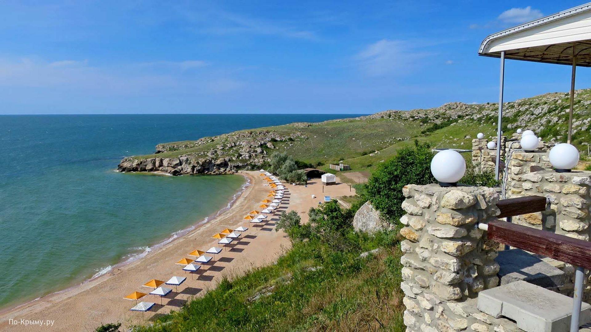 Лучший пляж Азовского моря