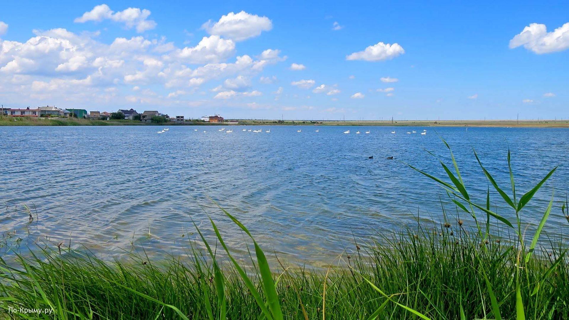 Черноморское побережье. Озеро Кучук-Аджиголь