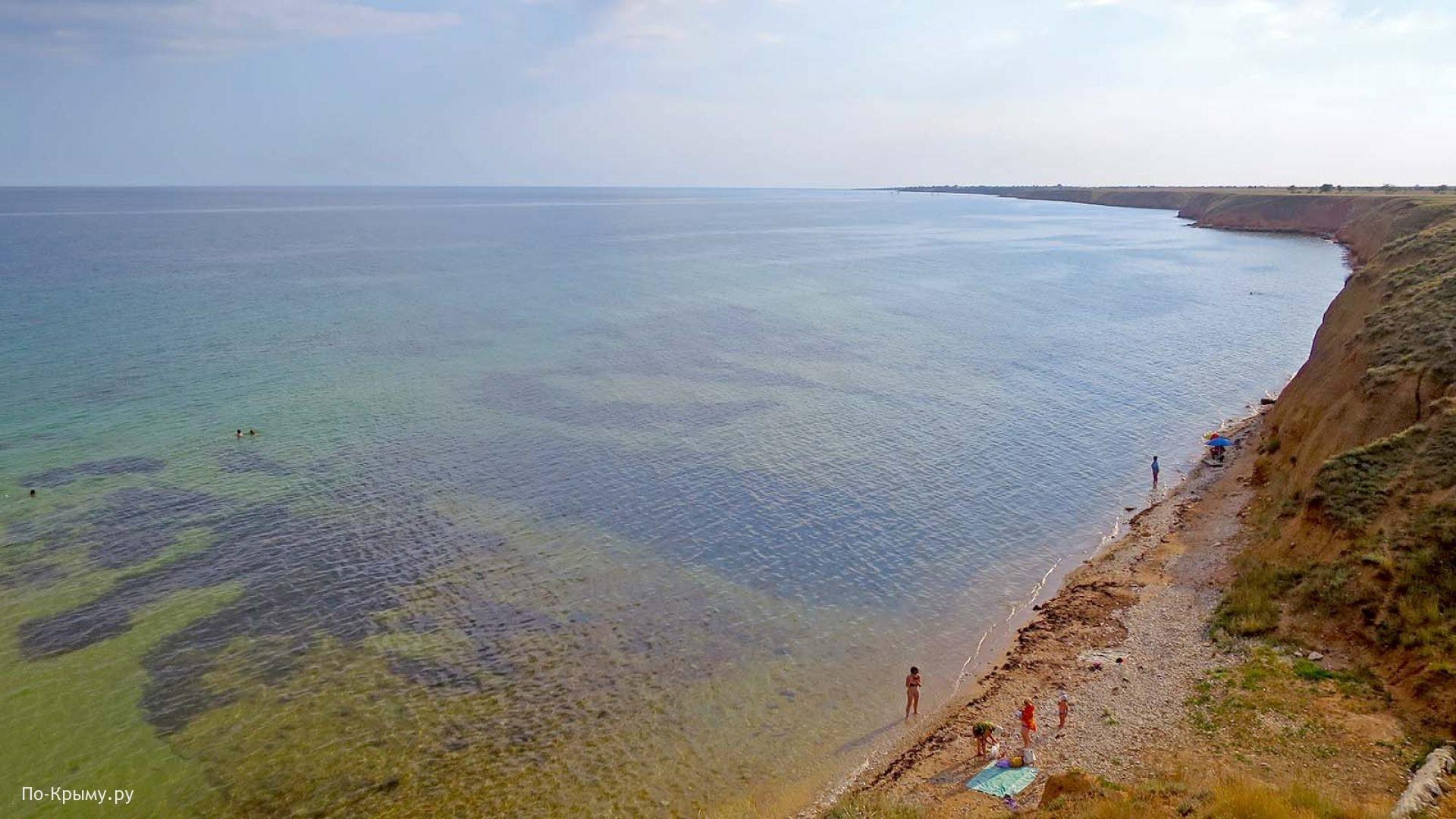 Дикие пляжи Черноморского побережья Крыма
