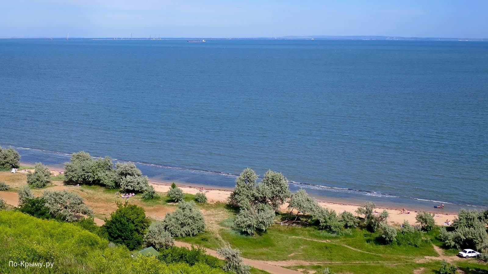 Керченский пляж Аршинцево