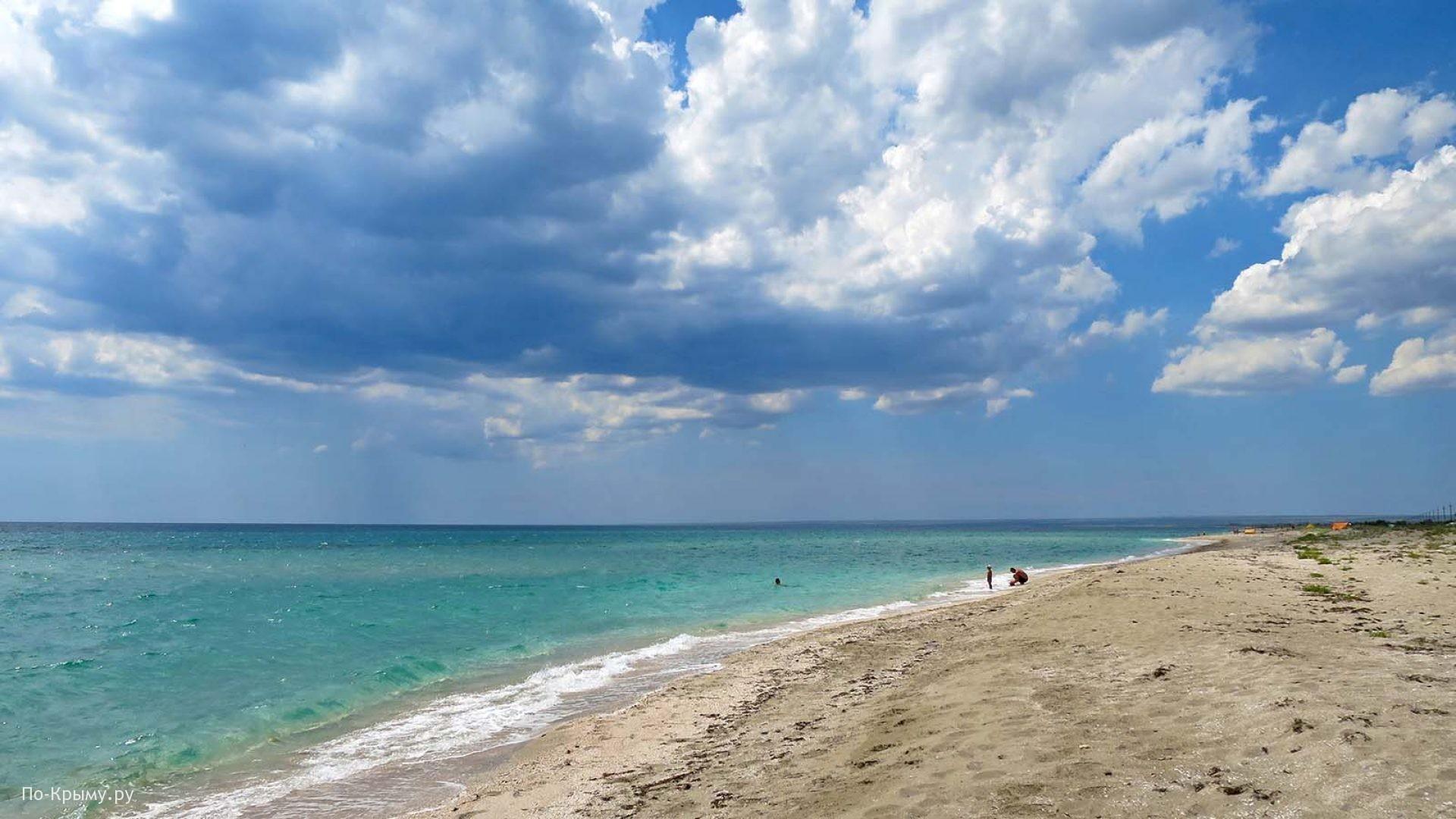 Песчаные пляжи Западного Крыма
