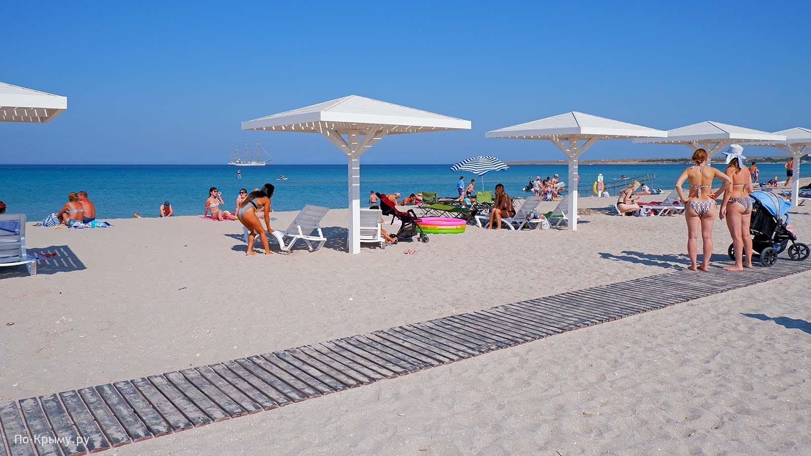 Оленевка, пляж Sunset №ЧЕ-9 в Крыму