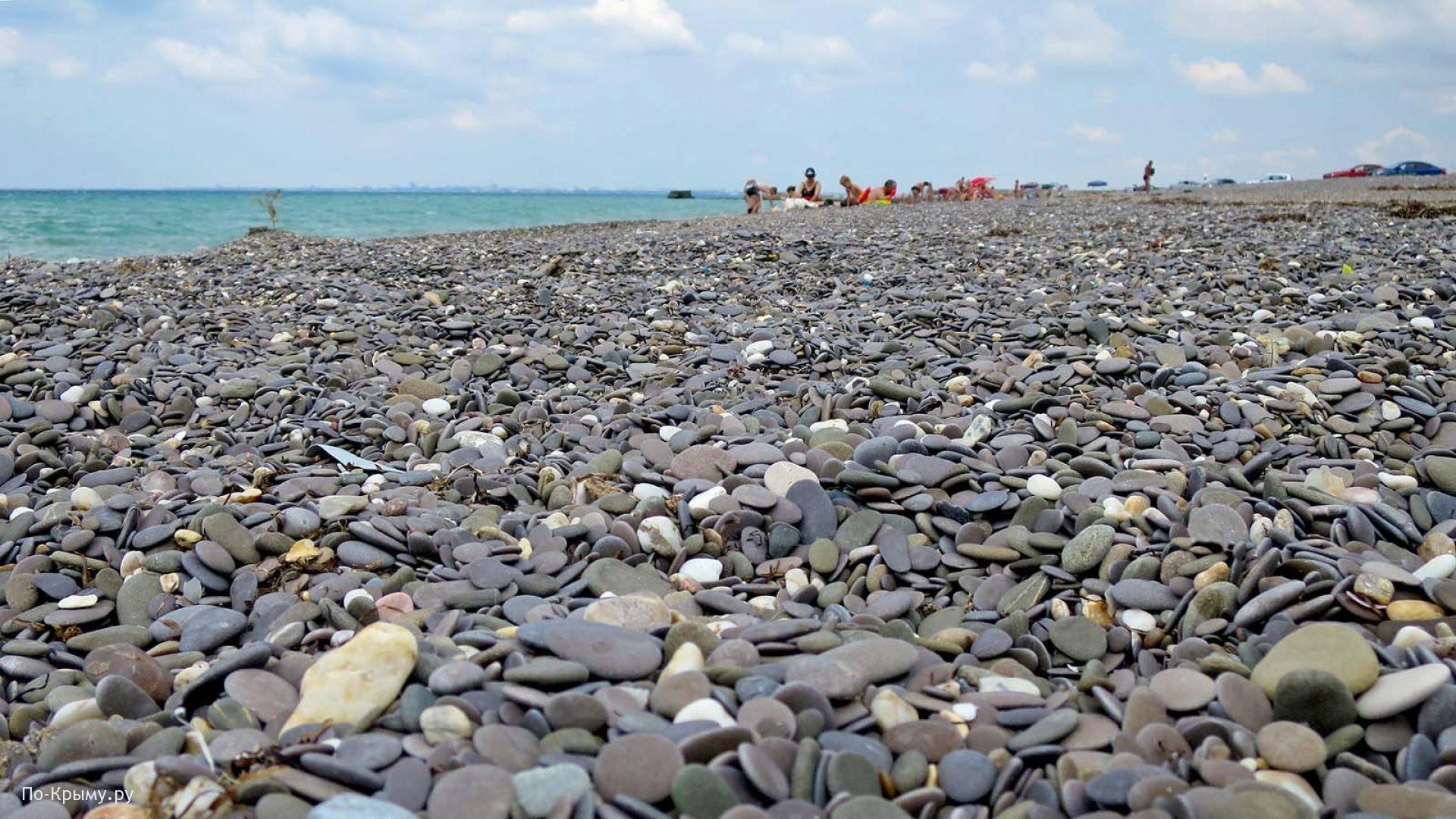 Мелкогалечные пляжи Крыма
