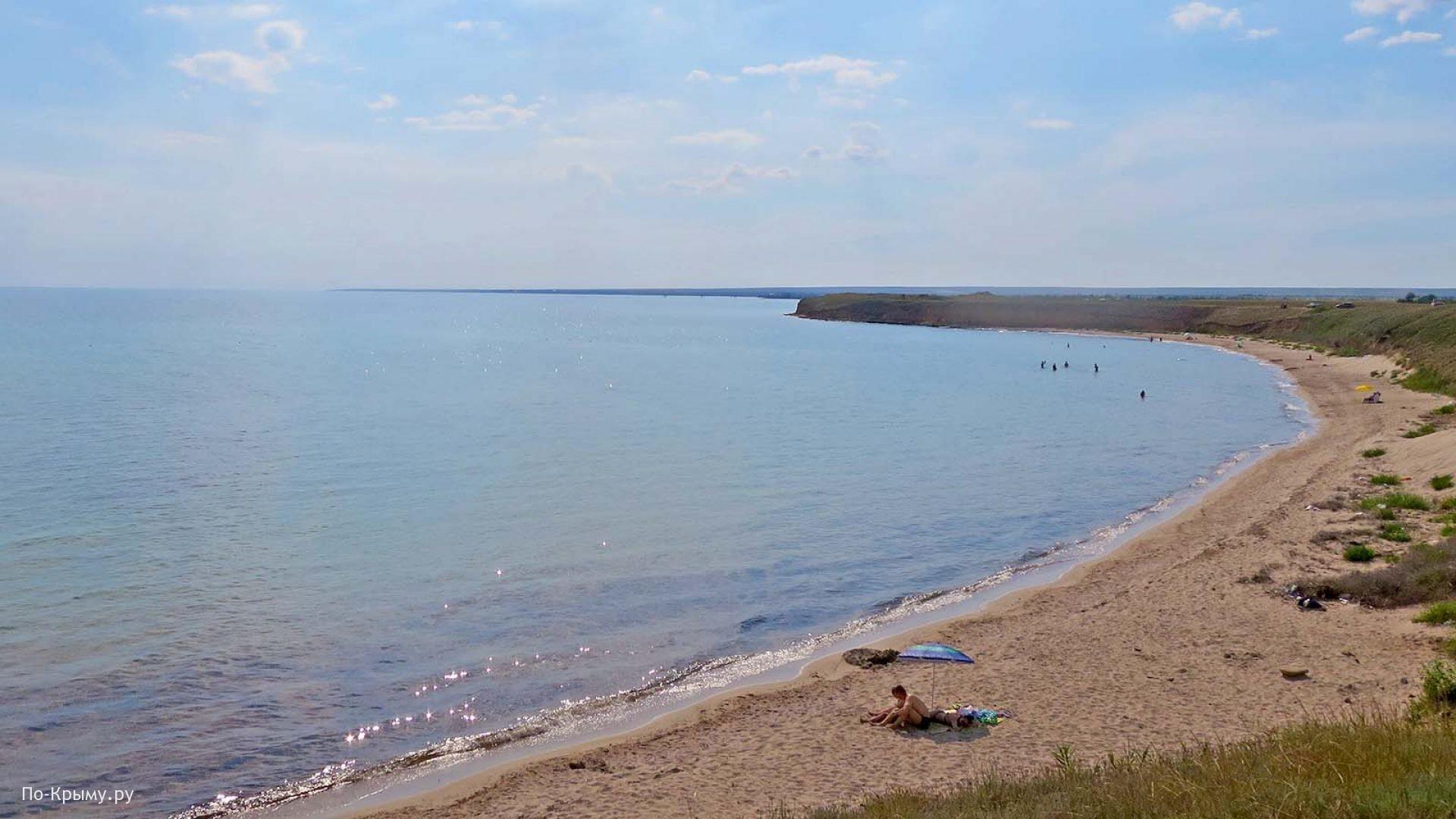 Песчаный пляжи Крыма