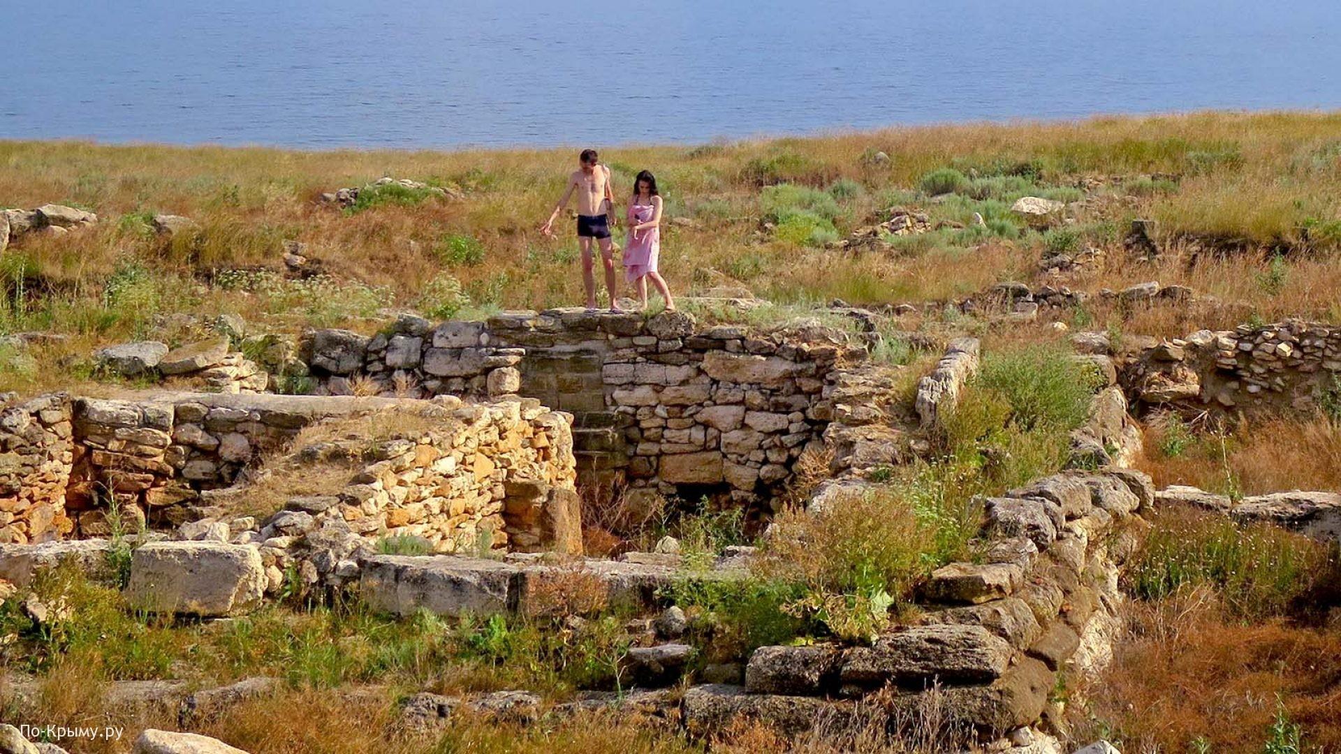 Раскопки городища Кульчук